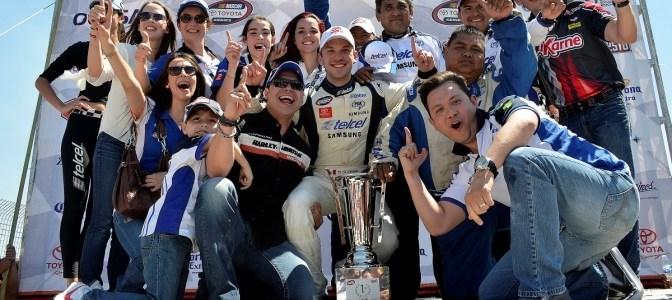 Daniel Suárez imparable y conquista Monterrey