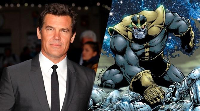 Josh Brolin será la voz de Thanos en 'Guardianes de la Galaxia' y películas futuras