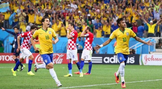 Brasil comienza con el pie derecho, tras superar 3-1 a Croacia