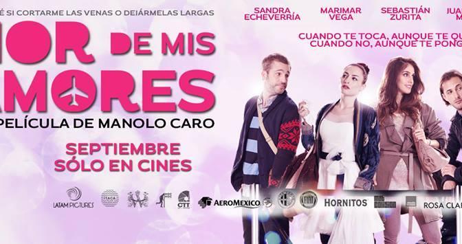 Primer trailer de 'Amor de mis Amores' del director Manolo Caro.