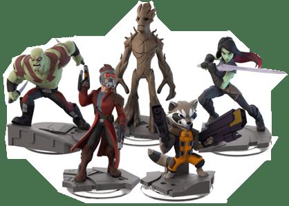 Los Guardianes de la Galaxia llegan a Disney Infinity