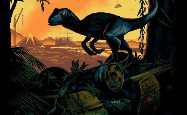 'Jurassic World' obtiene un póster para Comic-Con