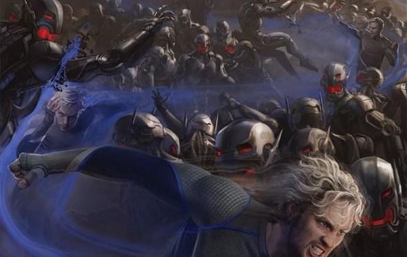 [SDCC 2014] Dos nuevos pósters de 'The Avengers: Age of Ultron' muestran a Hawkeye, Quicksilver y Vision