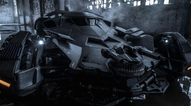 Vean la primera foto oficial del Batimóvil de 'Batman v Superman: Dawn of Justice'