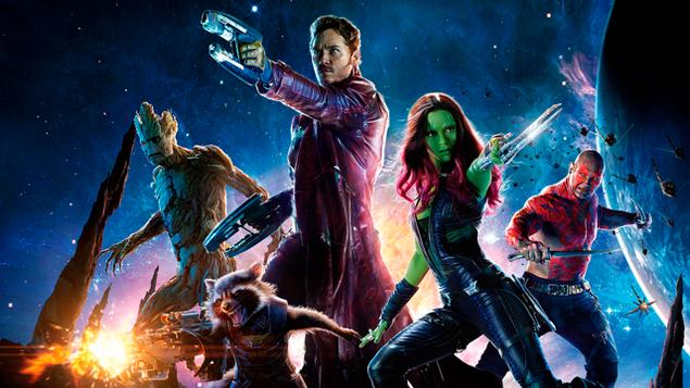 Los Guardianes de la Galaxia en busca del Oscar