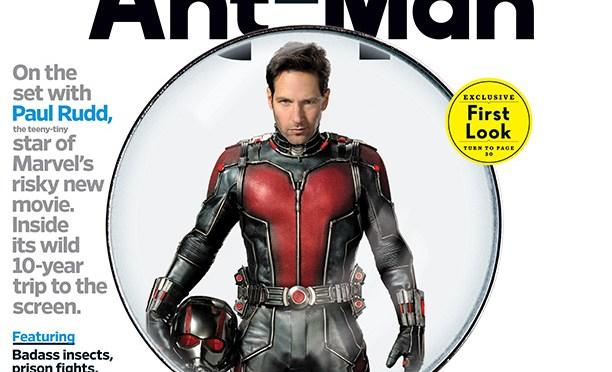 Así se ve Paul Rudd en el traje de 'Ant-Man' + nuevo póster