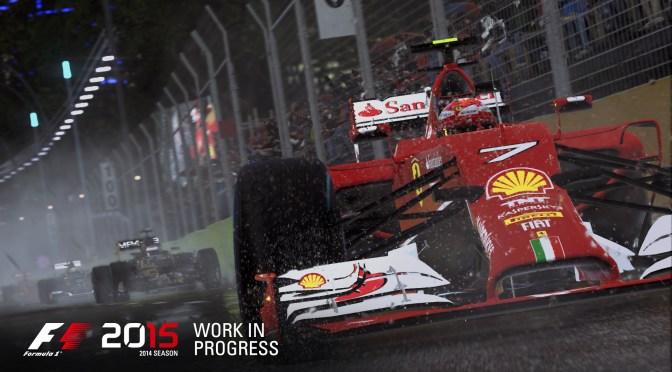 ¡¡F1 2015 llegará este Junio!!
