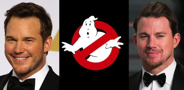 Podría haber 4 películas nuevas de Ghostbusters, algunas con la participación de Channing Tatum y Chris Pratt.
