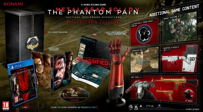 Metal Gear Solid V: The Phantom Pain – Anunciada Fecha de Salida