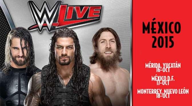 WWE anuncia su nueva gira para México