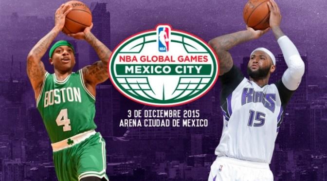 La Arena Ciudad de México recibe nuevamente a la NBA con el duelo entre BOSTON VS SACRAMENTO