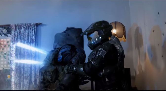 Master Chief se pone loco contra jugadores de Call of Duty en este divertido video