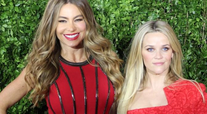 Reese Witherspoon y Sofía Vergara en la alfombra roja en México de 'Dos Locas en Fuga'