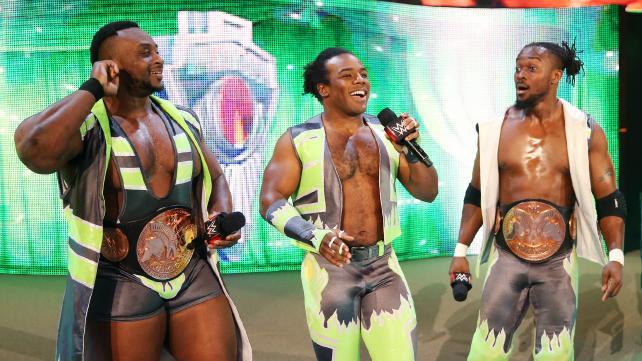 The New Day estará presente en la gira de la WWE en México