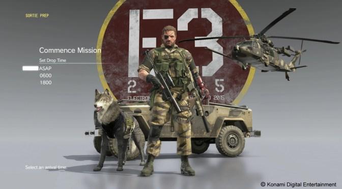 D-Dog, D-Walker y D-D Kong en este gameplay de 40 minutos de Metal Gear Solid V: The Phantom Pain