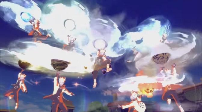 Chou Bijuu Dama y el Susano'o perfecto de Sasuke en el avance del E3 de Naruto Shippuden Ultimate Ninja Storm 4