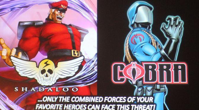 [Comic Con] ¡Shadaloo y Cobra se unirán en una Novela Gráfica!