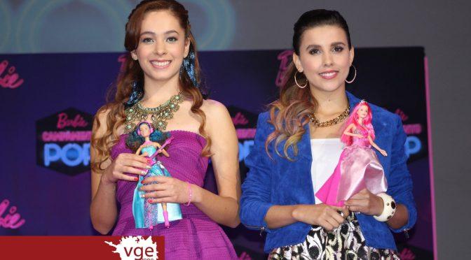"""Paulina Goto y Ferny Graciano sorprenden con espectacular concierto en la premier de """"Barbie Campamento Pop"""""""