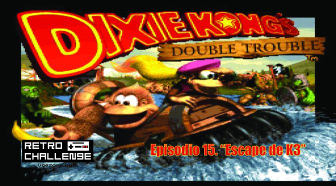 "Retro Challenge | Donkey Kong Country 3 – Ep. 15 ""Escape de K3"""