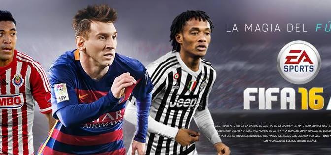 FIFA 16 AHORA DISPONIBLE EN TODO EL MUNDO