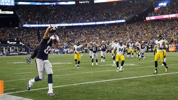 New England Patriots supera por 28-21 a Pittsburgh Steelers en el Kick off de la NFL