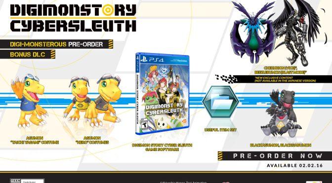 Digimon Story: Cyber Sleuth llegará a América el 2 de febrero de 2016