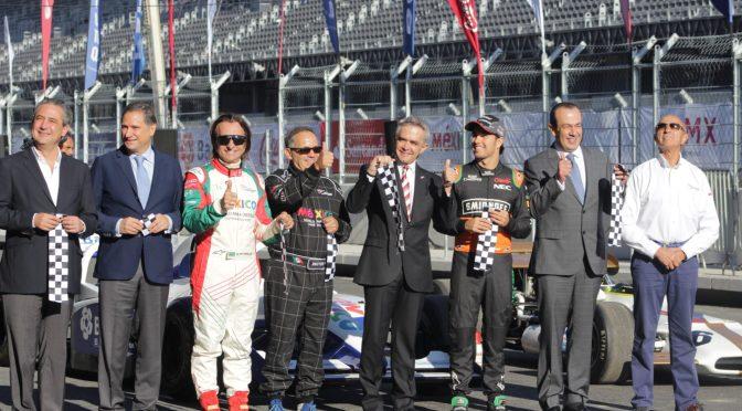 Sergio Pérez arranca hacia el Gran Premio de México
