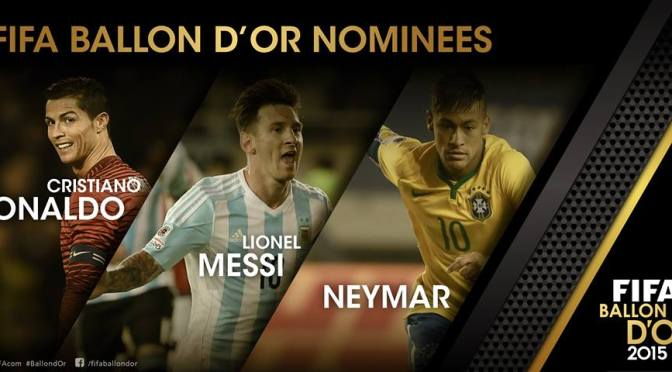 Ya se conocen los finalistas al FIFA Balón de Oro 2015