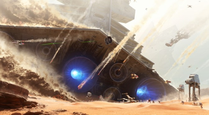 Se parte de La batalla de Jakku en este nuevo teaser de Star Wars: Battlefront