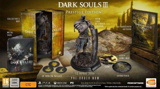 Dark Souls 3 tendrá un par de ediciones especiales espectaculares (y caras)
