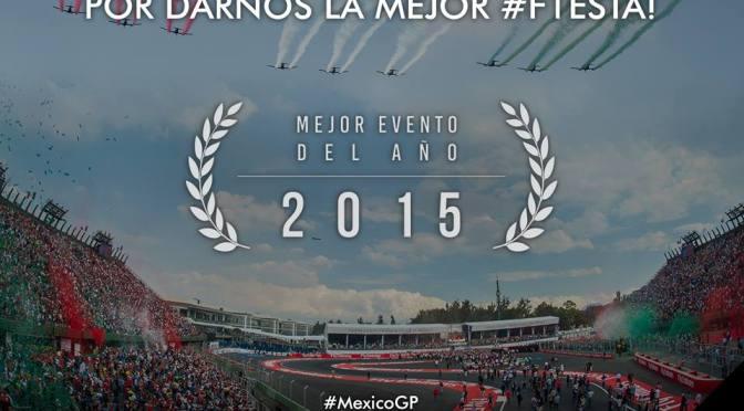 Gran Premio de México gana reconocimiento como Mejor Evento del Año por parte de FIA