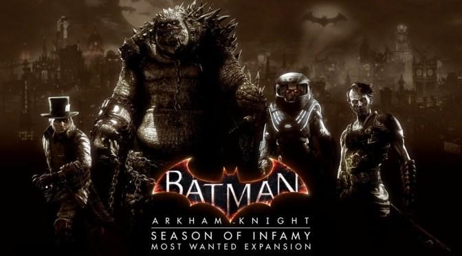 El nuevo DLC para Batman Arkham Knight ya esta disponible