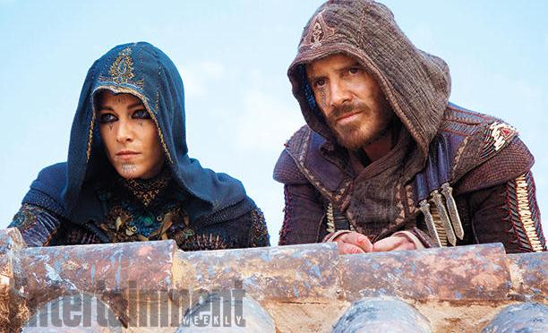 Así se ve Michael Fassbender en la película de Assassin's Creed