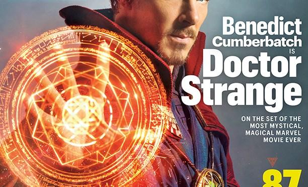 Primeras imágenes de Benedict Cumberbatch como Doctor Strange