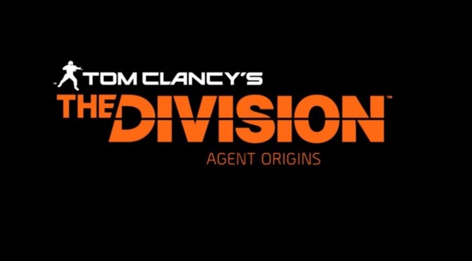 The Division estrena serie web live-action de 4 episodios titulada: Agent Origins