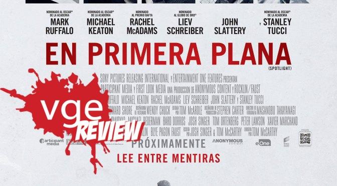 [Review] Spotlight – En Primera Plana