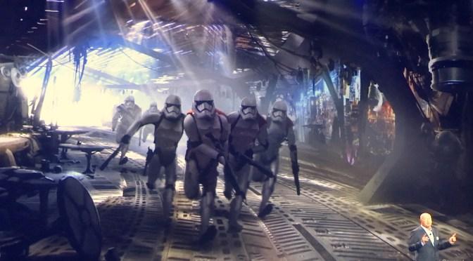 De una galaxia muy.. muy lejana llegan las primeras imagenes de Star Wars Land