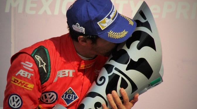 Di Grassi conquista el México ePrix y es líder del certamen