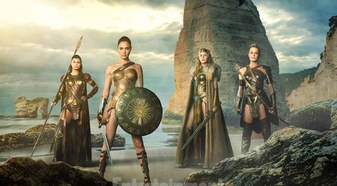 Conozcan a las guerreras amazonas en la primera foto de la película Wonder Woman