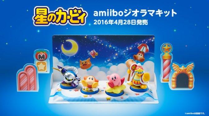 ¿Quieres que tus amiibos luzcan más? Nintendo lanzará dioramas para ellos muy pronto