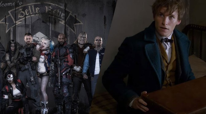 Los trailers de Suicide Squad y Fantastic Beasts en los MTV Movie Awards