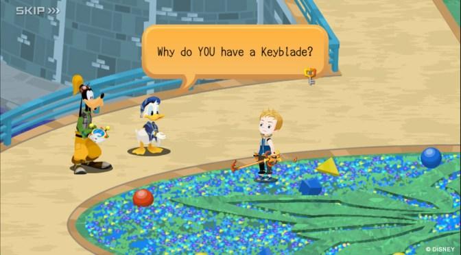 ¿Ya conoces Kingdom Hearts Unchained X?
