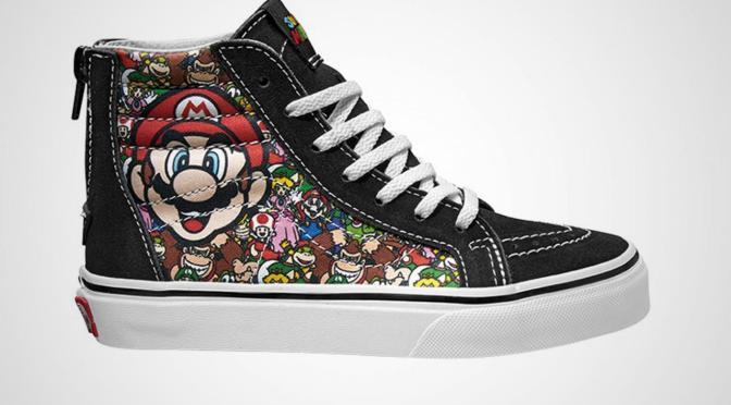 Vans y Nintendo serán la sensación este verano