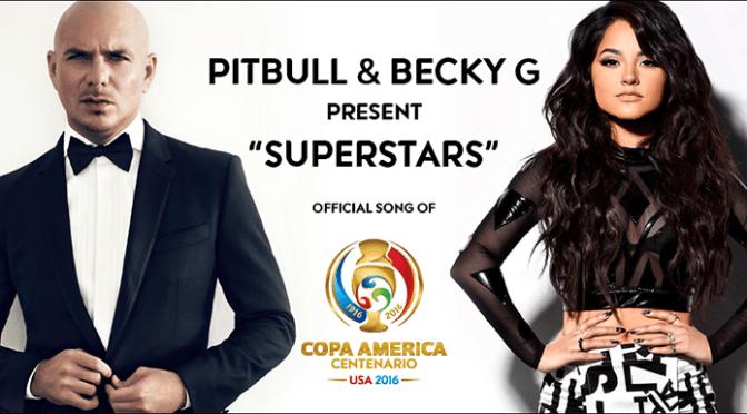 Pitbull se une a Becky G para la canción oficial de la CA2016