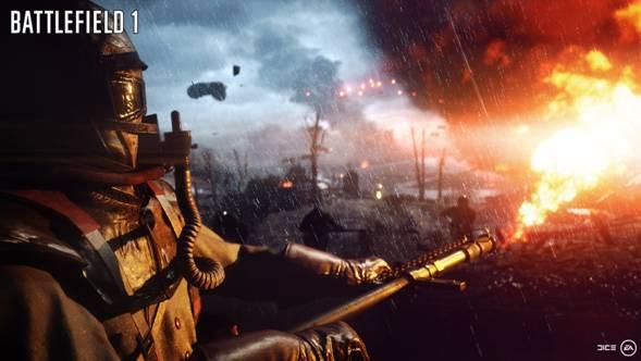 Electronic Arts anuncia BATTLEFIELD 1