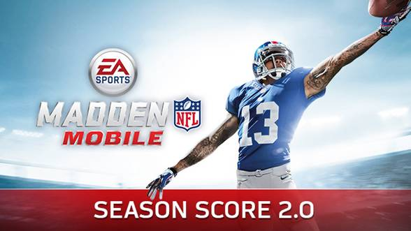 SEASON SCORE REGRESA A EA SPORTS MADDEN NFL MOBILE