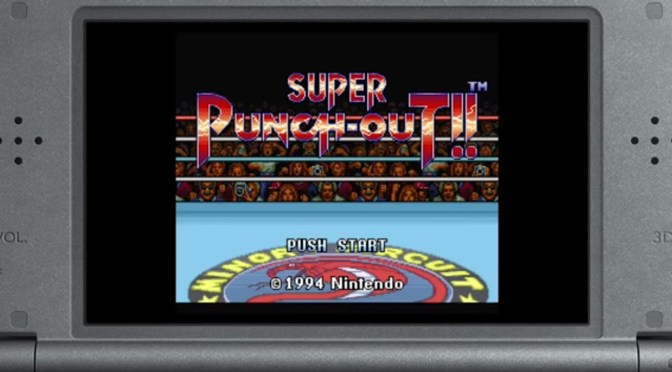 ¡¡Little Mac está de vuelta en Super Punch-Out para la consola virtual!!