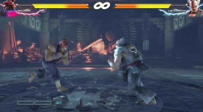 [E3 2016] Akuma vs Heiachi en Tekken 7