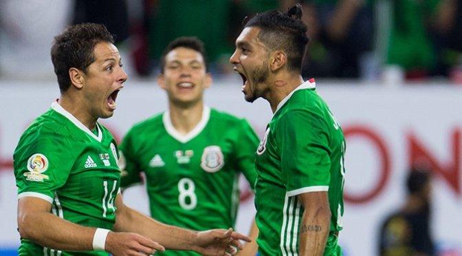 México iguala 1-1 con Venezuela y termina como líder del Grupo C en la Copa América Centenario