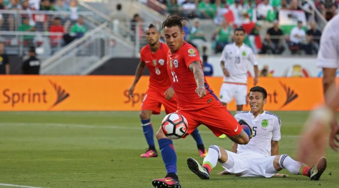 Chile golea 7-0 a México y avanza a semifinales de la Copa América Centenario